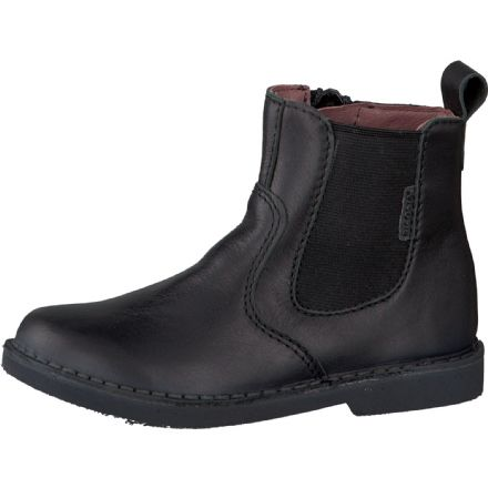 Ricosta DENISA Waterproof Leather Ankle Boots (Black)